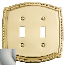 Satin Nickel Rope Double Toggle