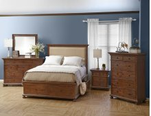 Geneva Hills California King Footboard With Two Drawers