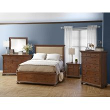 Geneva Hills King Upholstered Headboard