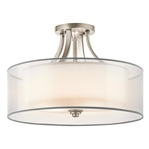 Lacey Collection Lacey 4 Light Semi Flush Ceiling Light - AP
