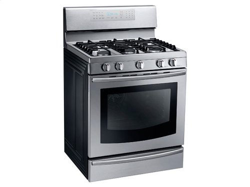5.8 cu. ft. Gas Range with True Convection Display Model