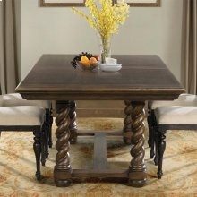 Cassidy - Trestle Dining Table - Aged Cask Finish