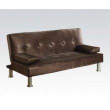 Chocolate Pu Adjustable Sofa