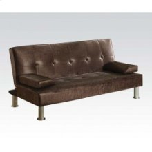 Chocolate Pu Adjustable Sofa