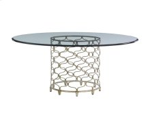 Bollinger Dining Table With Glass Top