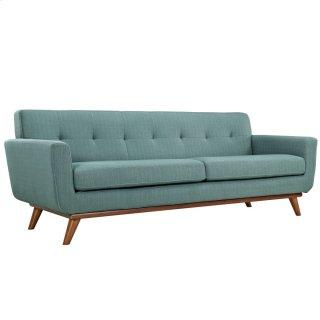 Engage Upholstered Fabric Sofa in Laguna