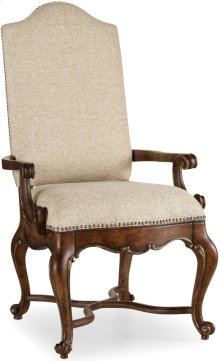 Adagio Upholstered Arm Chair