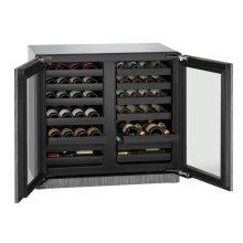 "36"" Wine Captain ® Model Integrated Frame Double Doors"