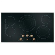 "Café 36"" Built-In Knob Control Electric Cooktop"