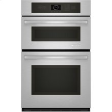 "Combination Microwave/Wall Oven, 27"", Euro-Style Stainless Handle"