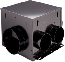 Multi-Port In-Line,Ventilator, 210 CFM, 2.0 Sones