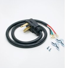 Dryer Electric Cord Accessory (4 Prong, 4 Ft.)