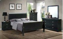 """Orleans Dresser, Black 57""""x15""""x33"""""""