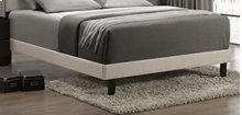 Lawler Full Footboard/rails - Cream