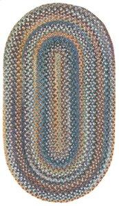 American Legacy Slate Blue Braided Rugs