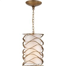 Visual Comfort S5045GI-L Barry Goralnick Bracelet 1 Light 8 inch Gilded Iron Pendant Ceiling Light