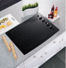 """GE Profile 30"""" Built-In CleanDesign Electric Cooktop"""