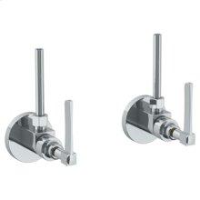 "Lavatory Angle Stop Kit -1/2"" Ips X 3/8"" Od Compression"
