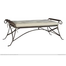 Medium Iron Bench