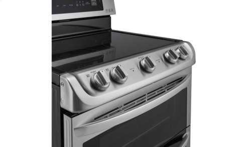 7.3 cu. ft. Electric Double Oven Range with ProBake Convection® and EasyClean®