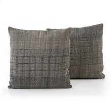 Faded Partial Print LG Pillow, Set of 2