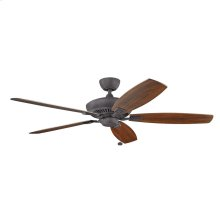 "Canfield XL Collection Canfield XL 60"" Ceiling Fan - In Distressed Black"
