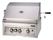 3-Burner 28-Inch Infrared Propane Gas Grill