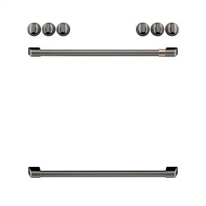 GEFront Control Electric Knobs and Handles - Brushed Black
