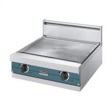 "Iridescent Blue 24"" Griddle/Simmer Plate - VGGT (24"" wide griddle/simmer plate)"