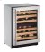 """Additional 2000 Series 24"""" Wine Captain® Model With Stainless Frame Finish and Field Reversible Door Swing (115 Volts / 60 Hz)"""
