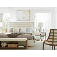 Upholstered King Bed Product Image