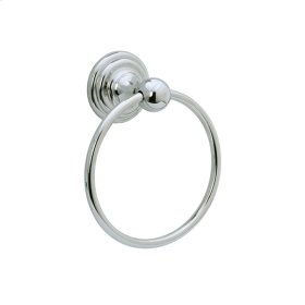 Highlands - Towel Ring - Unlacquered Brass