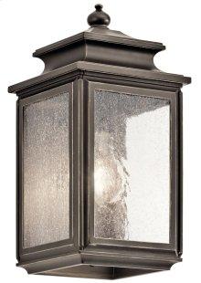 "Wiscombe Park 12.25"" 1 Light Wall Light Olde Bronze®"