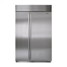 """48"""" Built-in Side-by-Side Refrigerator - Overlay"""