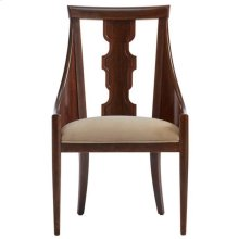 Havana Crossing - Baro Host Chair In Colonial Mahogany