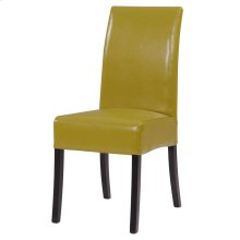 Valencia BONDED Leather Chair, Wasabi