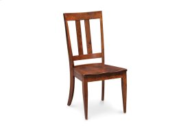 """Harvest Side Chair with 3"""" Shorter Back, Fabric Seat"""