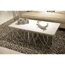 Bunching Coffee Table - Polished Steel Finish Product Image