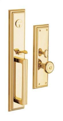 Lifetime Polished Brass Tremont Entrance Trim