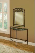 Marsala Console Table and Mirror Product Image
