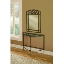 Marsala Console Table and Mirror