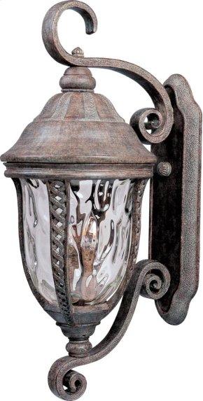 Whittier Cast 3-Light Outdoor Wall Lantern