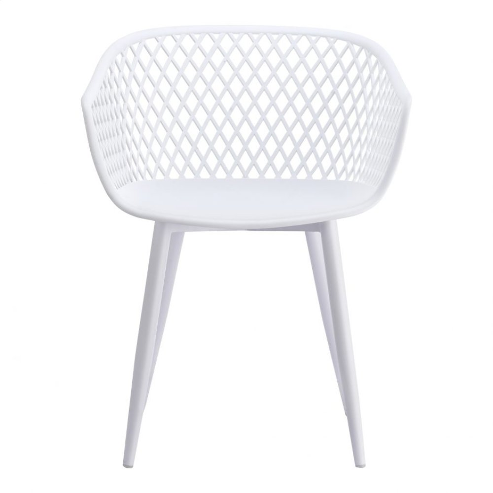Piazza Outdoor Chair White-m2