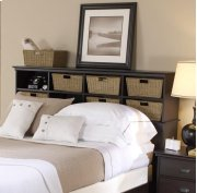 Cubby Hdbd - Full/Queen - Holds 8 Baskets Product Image