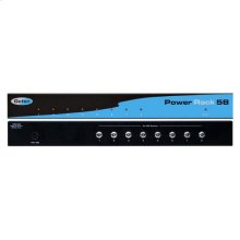 8-port, 5V DC Power Rack