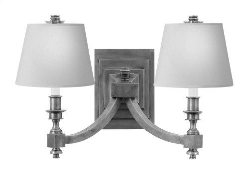 Visual Comfort MS2021BZ-NP Michael S Smith Eiffel 2 Light 19 inch Bronze Decorative Wall Light