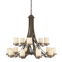 Hendrik 15 Light Chandelier Olde Bronze®