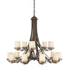 Hendrik 15 Light Chandelier Olde Bronze®