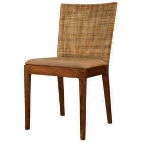 Virginia Rattan Side Chair, Violetta
