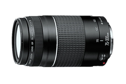Canon EF 75-300mm f/4-5.6 III Telephoto Zoom
